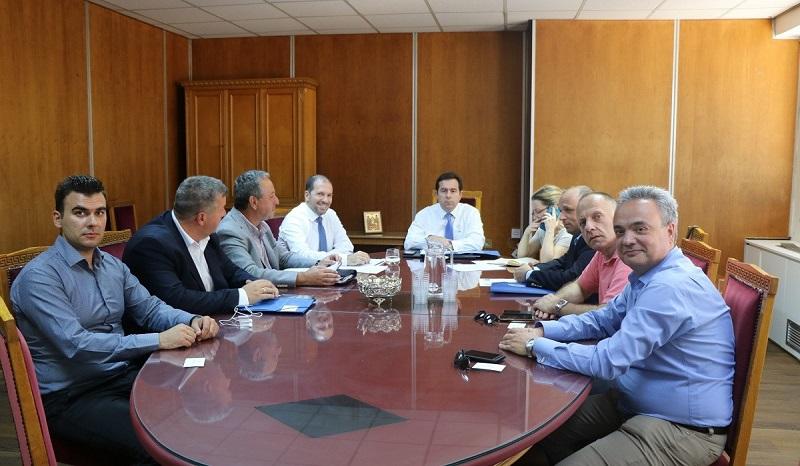 Επίσημη συνάντηση ΠΟΜΕΝΣ με τον Υφυπουργό Εργασίας και Κοινωνικών Υποθέσεων κ. Νότη Μηταράκη