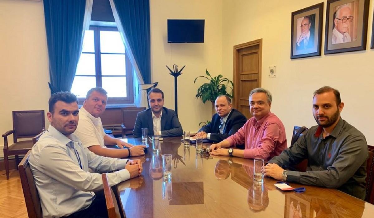 ΠΟΜΕΝΣ: Επίσημη συνάντηση με τον Βουλευτή Χρήστο Δερμετζόπουλο