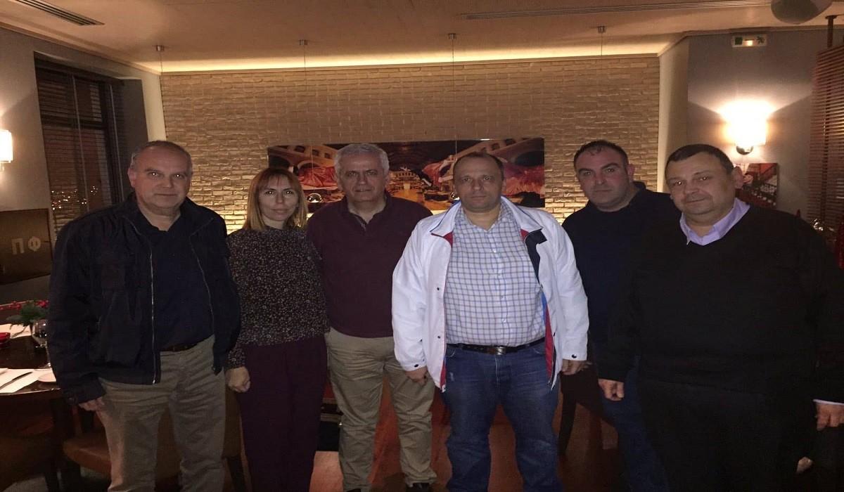 Συνάντηση αντιπροσωπείας της ΠΟΜΕΝΣ με μέλη του ΔΣ της ΕΣΠΕ Κεντρικής Μακεδονίας