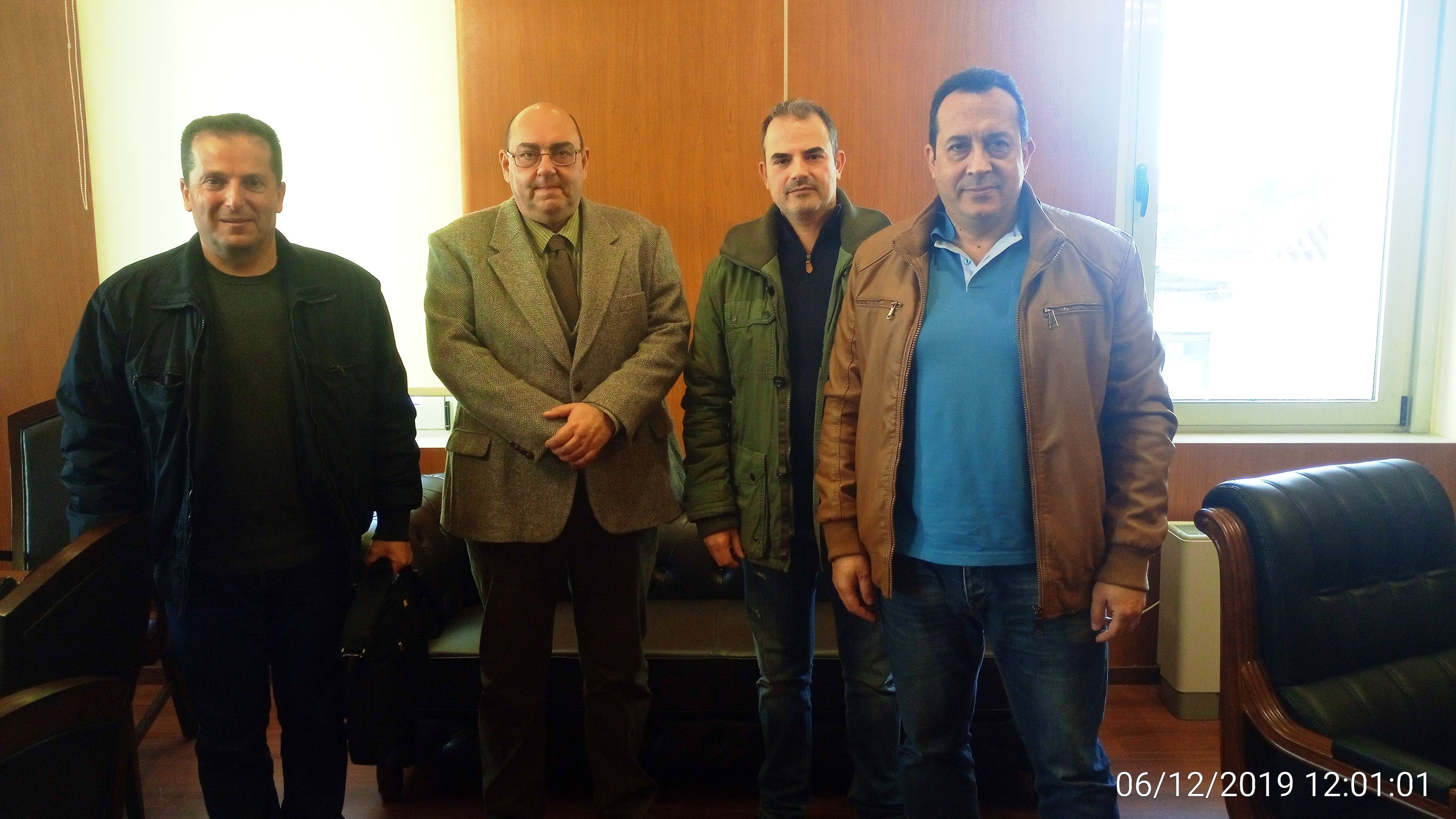 Ε.Σ.ΠΕ.Ε.ΛΕΣ: Συνάντηση με τον Δήμαρχο Δυτικής Λέσβου κ. Ταξιάρχη Βέρρο