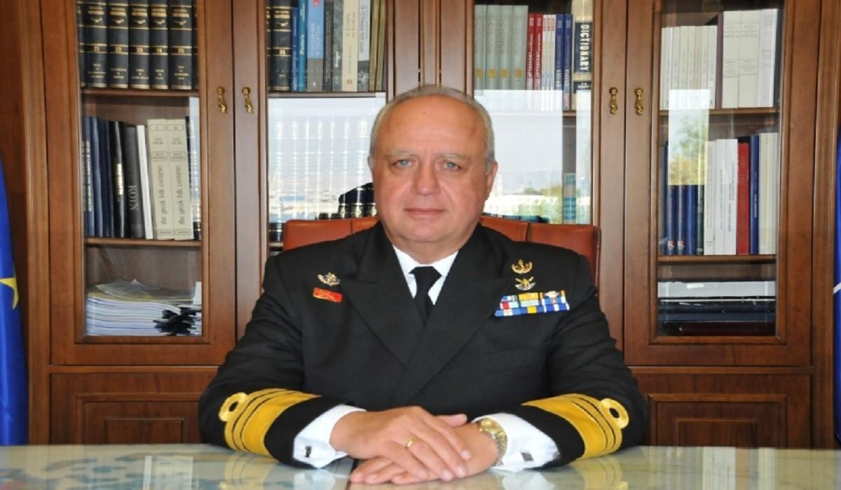 Συγχαρητήρια επιστολή παραλαμβάνοντος Αρχηγού Γενικού Επιτελείου Ναυτικού