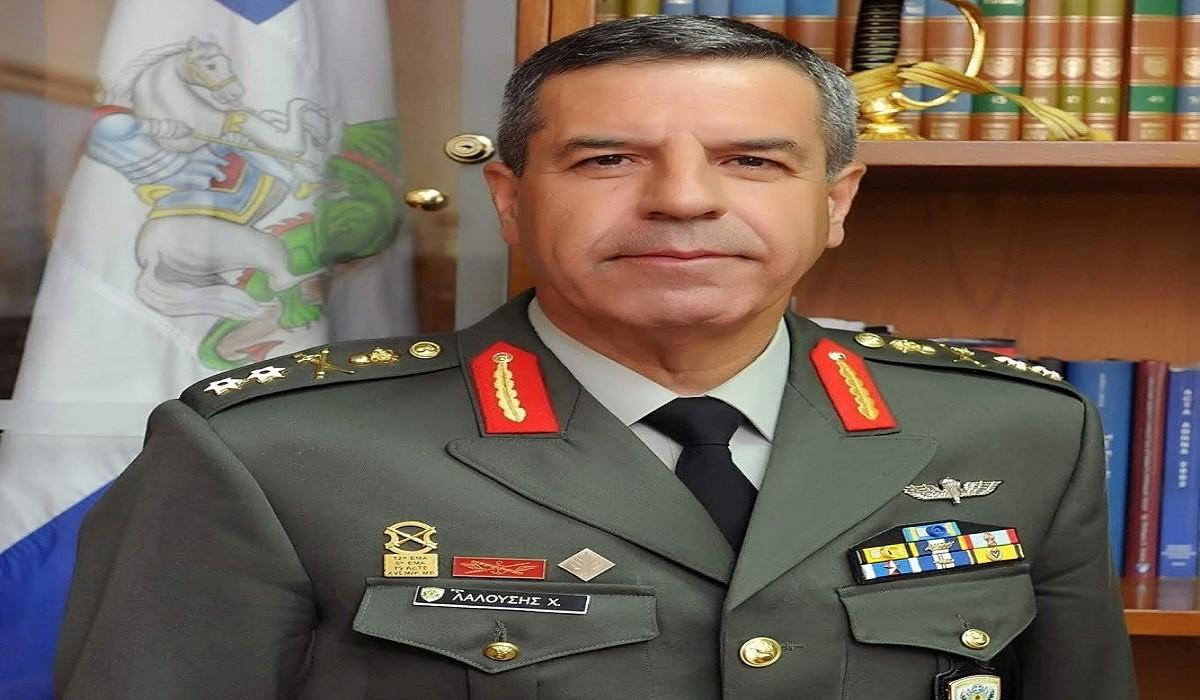 Συγχαρητήρια επιστολή παραλαμβάνοντος Αρχηγού Γενικού Επιτελείου Στρατού