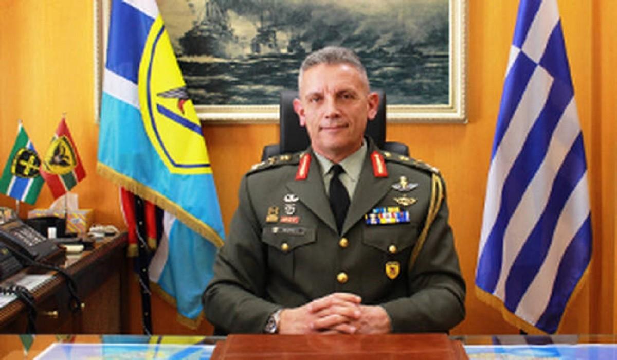 Συγχαρητήρια επιστολή παραλαμβάνοντος Αρχηγού Γενικού Επιτελείου Εθνικής Άμυνας