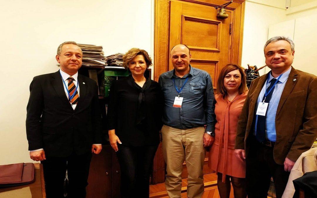 Συνάντηση ΠΟΜΕΝΣ με την Γραμματέα της Κ.Ο.του ΣΥΡΙΖΑ κ.Όλγα Γεροβασίλη