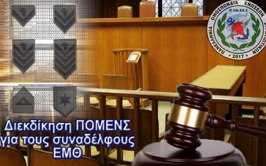 Ανακοίνωση για Δικαστική Διεκδίκηση ΕΜΘ